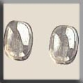 12255 - Olive Bead Smokey Crystal Luster 8/6mm - 2 per pkg